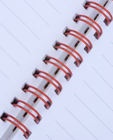 Free Spiral Notebook Royalty Free Stock Images - 6770559