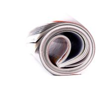 Free Magazine Roll Stock Image - 6770841