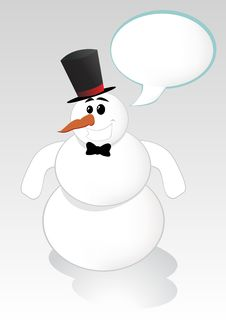 Free Snowman Royalty Free Stock Photos - 6771188