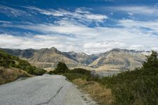 Free Mountain Road In Southern Alps Stock Photography - 6771332