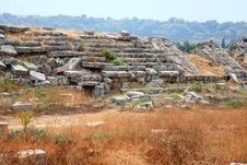 Free Ruins Of The Roman Stadium. Stock Image - 6772161