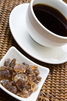 Free Black Coffee And Sugar Stock Photo - 6772280