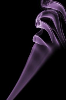 Free Abstract Violet Smoke Isolated Stock Images - 6772344