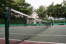 Free Tennis Court Royalty Free Stock Photo - 6772635