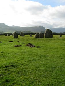 Free Castlerigg Stone Circle Royalty Free Stock Photos - 6773248