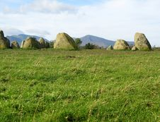 Free Castlerigg Stone Circle, Lake District Royalty Free Stock Photo - 6773255