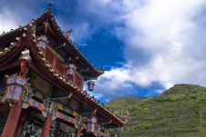 Free Chinese Ancient Architecture Stock Image - 6773741