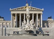 Free Austrian Parliament, Vienna Royalty Free Stock Photography - 6774037