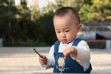 Free Young Baby Royalty Free Stock Photos - 6774068
