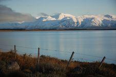 Lago Argentino Royalty Free Stock Photography