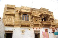Haveli In Rajasthan Royalty Free Stock Image
