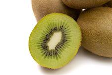 Ripe Kiwi Royalty Free Stock Images