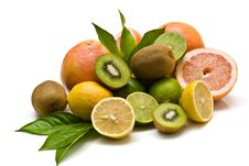 Free Miscellaneous Citrus Fruits Royalty Free Stock Photos - 6775548