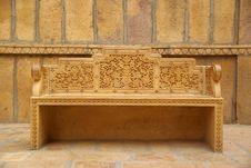 Free Bench In Jaisalmer Royalty Free Stock Image - 6775596