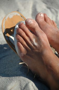 Free Feet Royalty Free Stock Photography - 6775987