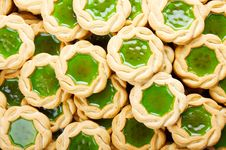 Free Cookies With Jam Royalty Free Stock Photos - 6776038