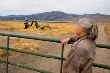 Free Female Rancher Stock Photography - 6776342