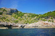 North Coast Of Majorca Stock Images