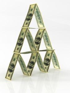 Free Dollars House Royalty Free Stock Image - 6776636