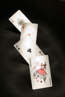 Free Ace Joker Royalty Free Stock Photo - 6776815