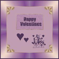 Free Happy Valentines Royalty Free Stock Photo - 6776975