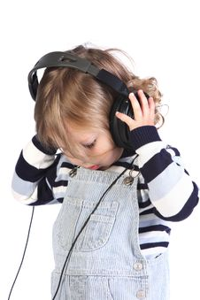 Free Girl Listening Music Royalty Free Stock Photo - 6777105