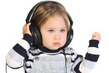 Free Girl Listening Music Royalty Free Stock Image - 6777246