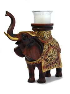 Free Elephant Candlestick Royalty Free Stock Photo - 6777455