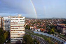 Free Rainbow City Stock Images - 6777774