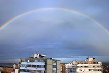 Free Rainbow City Royalty Free Stock Image - 6777936