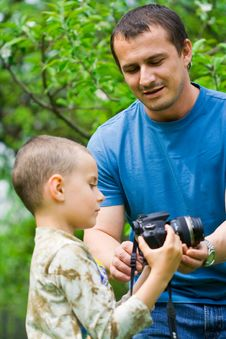 Free Father And Son Royalty Free Stock Photos - 6777948
