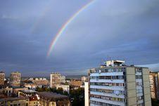 Free Rainbow City Royalty Free Stock Photo - 6778025