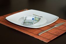 Free Eat The Crises Stock Image - 6778081