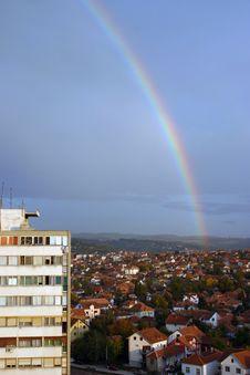 Free Rainbow City Royalty Free Stock Images - 6778279