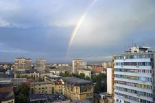 Free Rainbow City Royalty Free Stock Photography - 6778487