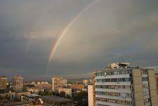 Free Rainbow City Royalty Free Stock Image - 6778586