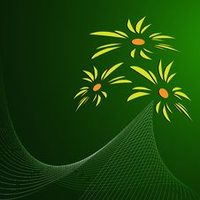 Free Floral Banner Vector Stock Photo - 6778870