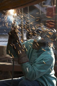 Free Weld Fire Move Stock Images - 6779034