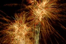 Free Fireworks On Black Stock Photo - 6779410