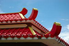 Free Red Roof Royalty Free Stock Images - 6779449