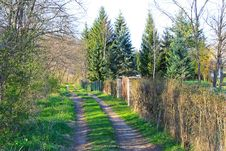 Free Village Path Stock Photo - 6779860