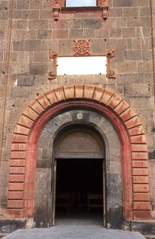 Free Door Armenian Church Royalty Free Stock Image - 67747936