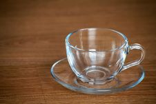 Free Glass Cup And Saucer Royalty Free Stock Image - 67796076