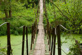 Free Old Hanging Bgidge Royalty Free Stock Photography - 6787357