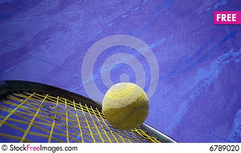Free Tennis Action Stock Photo - 6789020