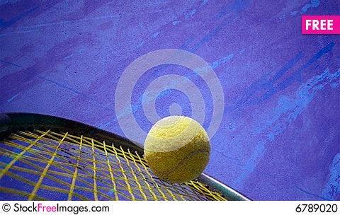 Free Tennis Action Stock Photo - 6789020