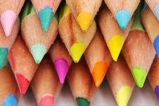 Free Color Pencils Royalty Free Stock Photography - 6780937