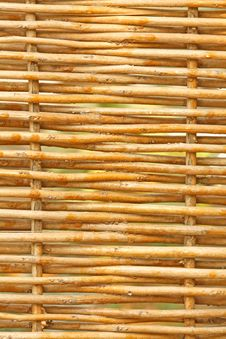 Free Wattle-fence Texture Stock Photography - 6781312