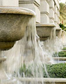 Free Giant Fountain Bowls Stock Photo - 6781760