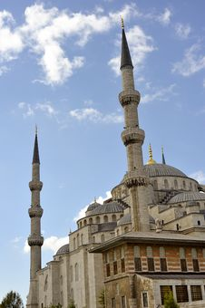 Free The Blue Mosque Royalty Free Stock Photography - 6781967